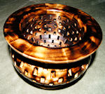 burn maple bowl
