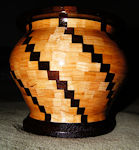 segmented pattern bowl